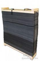 Terčovnica z plátov Avalon 130 x 130 x 30 cm so sťahovacím rámom