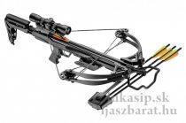 Kuša EK-Poelang Blade + 340 fps / 175LB sada - čierna