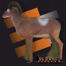 3D muflón Eleven s insertom
