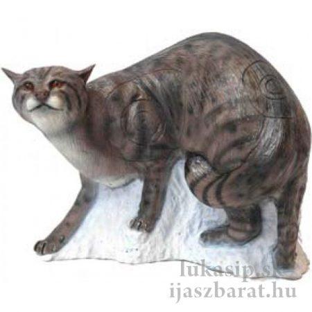 3D divá mačka SRT