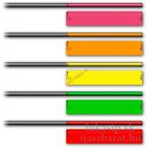 Arrow wraps Socx Fluo 12ks rôzne veľkosti