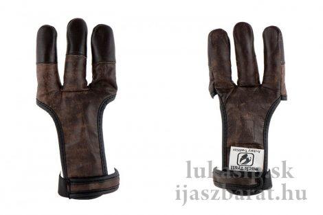 Rukavica full finger Brown Buffalo kožená