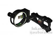 Mieridlá Maximal Hunter 5P čierne + osvetlenie