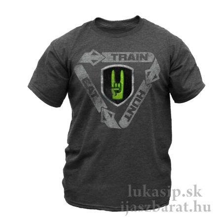 Tričko NockOn Train Hunt Eat