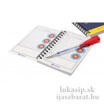 Score book (zápisník), 120 strán + pero