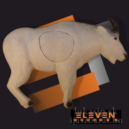 3D horská koza biela Eleven