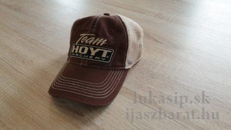 Šiltovka team Hoyt brown - hnedá