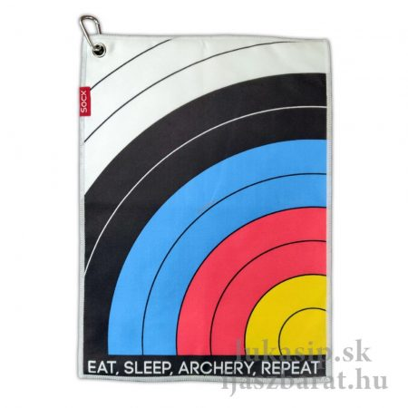 Utierka na tulec Socx Eat Sleep Archery 36 x 26 cm