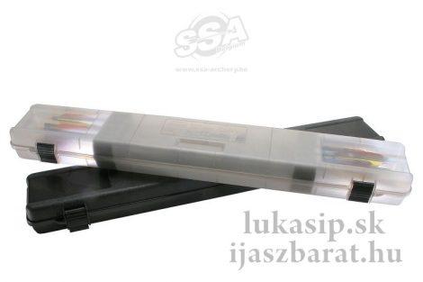 Kufor na šípy MTM ultra compact čierny