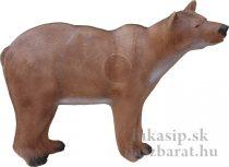 3D medveď na štyroch nohách s insertom Eleven