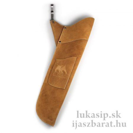 Tulec kožený Sidepack II