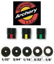 "Peep insert clarifier 16/64"" (1/4"") Specialty Archery"