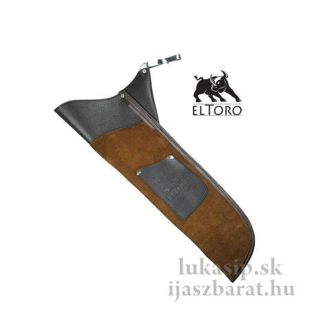Tulec kožený Sidepack II - tmavý