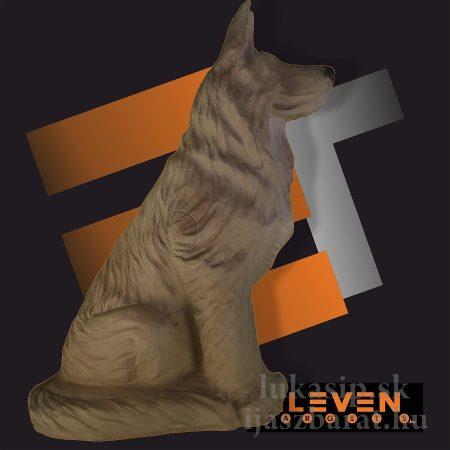 3D sediaci vlk Eleven