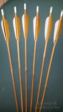 Šípy výber natur bambus 40-50 LB