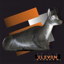 3D ležiaci kamzík s insertom Eleven