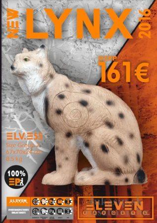 3D rys Eleven