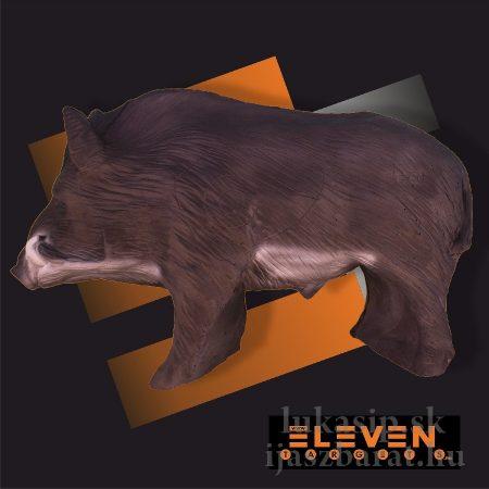 3D diviak stredný Eleven