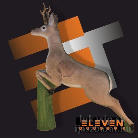 3D srnec skákajúci Eleven