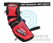 Tulec team Hoyt field červený RH&LH reversible s opaskom