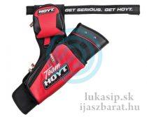 Tulec team Hoyt target RH&LH reversible s opaskom červený