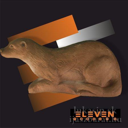 3D vydra Eleven