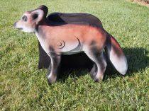 3D líška Csumi