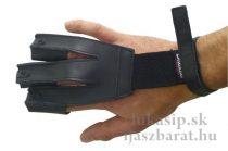 Rukavica Gompy kožená - čierna