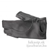 Rukavica na ruku držiacu luk čierna